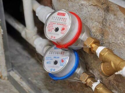 Правила подключения к водопроводу счетчиков воды