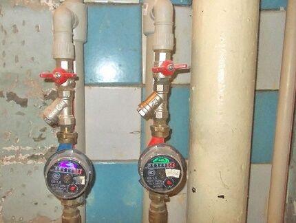 Соблюдение правил установки счетчиков расхода воды
