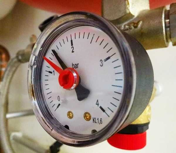 Понятие давления в системе при отоплении частного дома