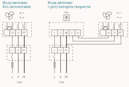 Схемы по подключению