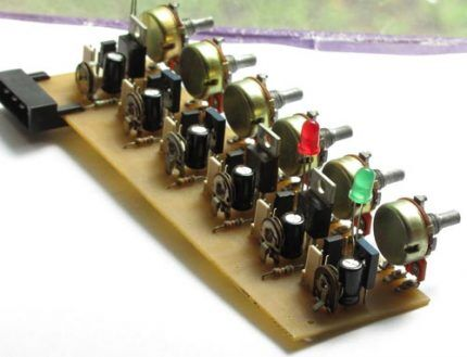 6-канальный регулятор
