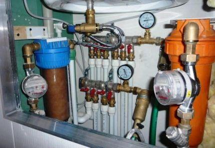 Водопроводный коллектор