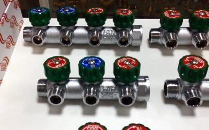 Коллекторы для водопровода