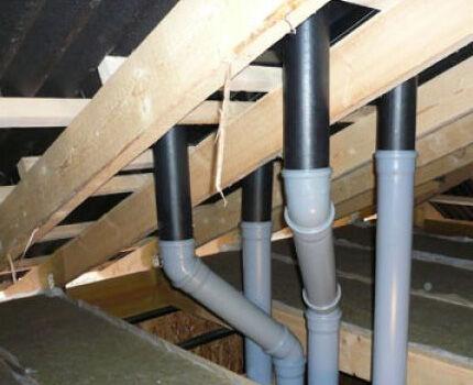 Для вентканалов применяются оцинкованные и пластиковые трубы
