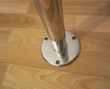Крепление мебели к полу