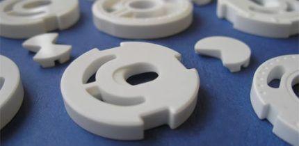 Белые керамические диски