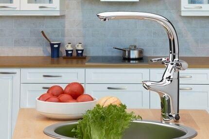 Автоматический смеситель для кухни - удобное устройство