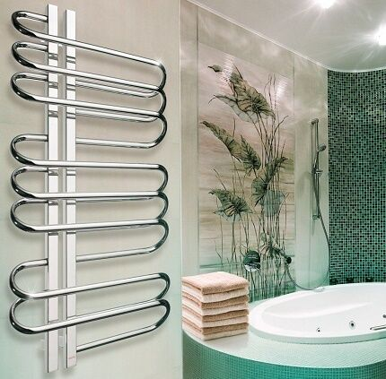 Место установки водяных полотенцесушителей