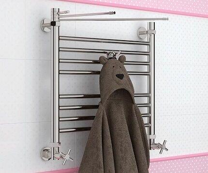 Хромированный полотенцесушитель