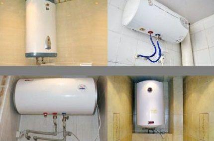 Подключение накопительных водонагревателей