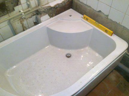 Поддон-ванна