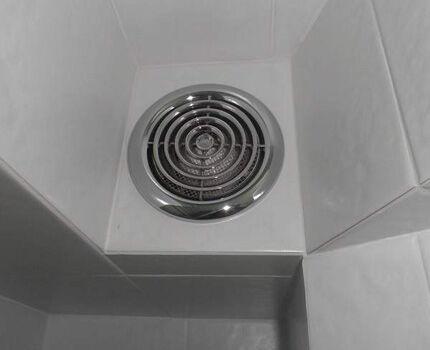 Защитная сетка от комаров у вентилятора