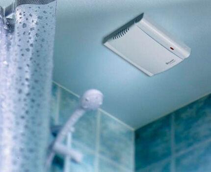Вытяжной вентилятор в ванной