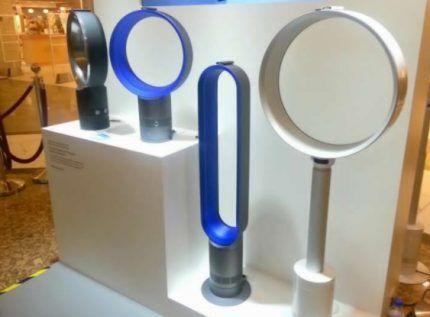 Модели безлопастных вентиляторов