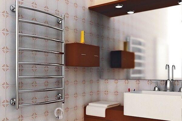 Установка электрического полотенцесушителя и основные правила его подключения