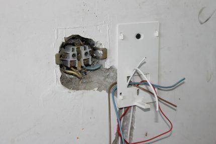Монтаж терморегулятора