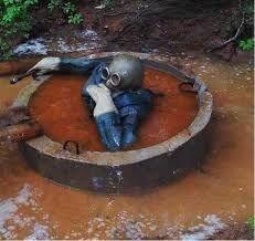 Чем лучше засыпать выгребную яму