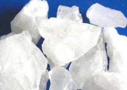 Кристаллы солей аммония