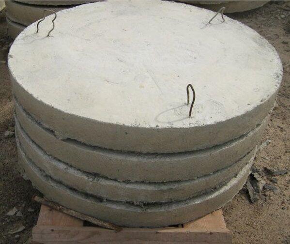Бетонные плиты для днища