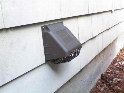 Приточная вентиляция в стене