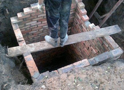 Строительство сливной ямы