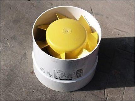 Вентилятор для тепловентилятора