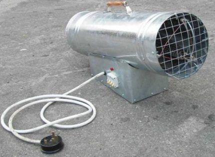 Решетка тепловентилятора