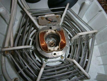 Спираль тепловентилятора