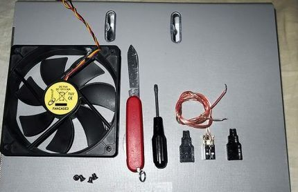Инструменты для тепловентилятора