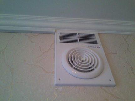 Сдвоенная вентиляционная решетка