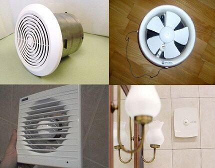 Вентилятор в санузле