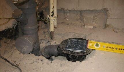 Высота размещения канализационных отводов