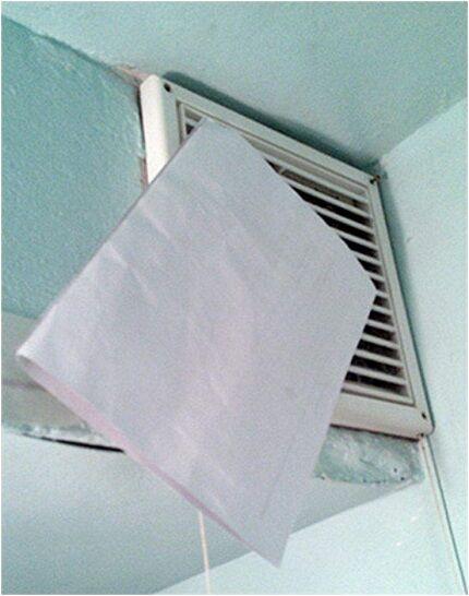 Проверка тяги вентиляции