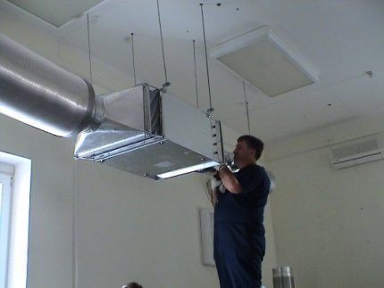 Соединение прямоугольных воздуховодов между собой