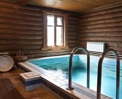 Вентиляция в бане с бассейном