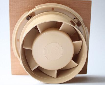 Малошумный вентилятор для бани