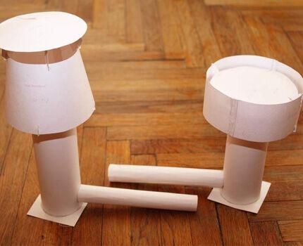Бумажный прототип дефлектора