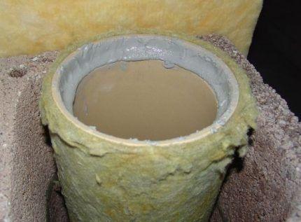 Клей для керамических труб