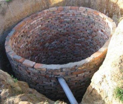 Выгребная яма для туалета