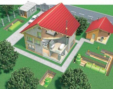 Канализация загородного дома своими руками: как сделать