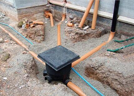 Коллектор для сооружения ливневой канализации своими руками