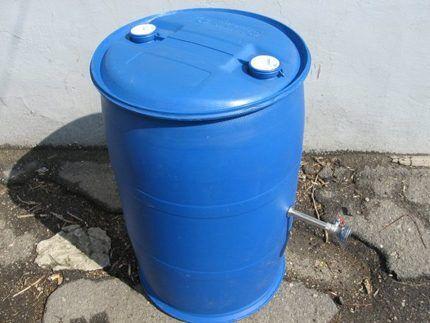 Бак для летнего душа - поливинилхлорид