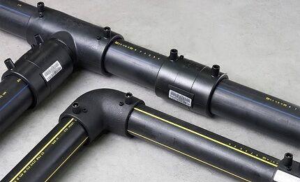 Полиэтиленовая труба для установки сантехники