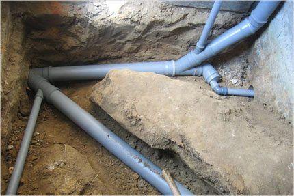 Трубы ливневой канализации