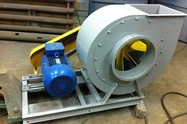 Типы лопастей центробежного вентилятора