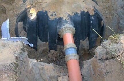 Наружный трубопровод из долговечного материала