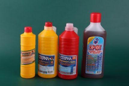 Химия для канализации