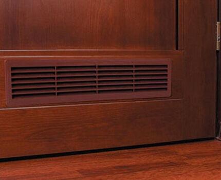 Вентиляционные решетки, врезаемые в двери