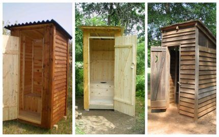 """Туалет """"скворечник"""""""