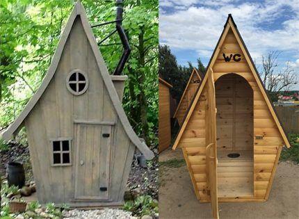 Дачные туалеты Избушка и Скворечник